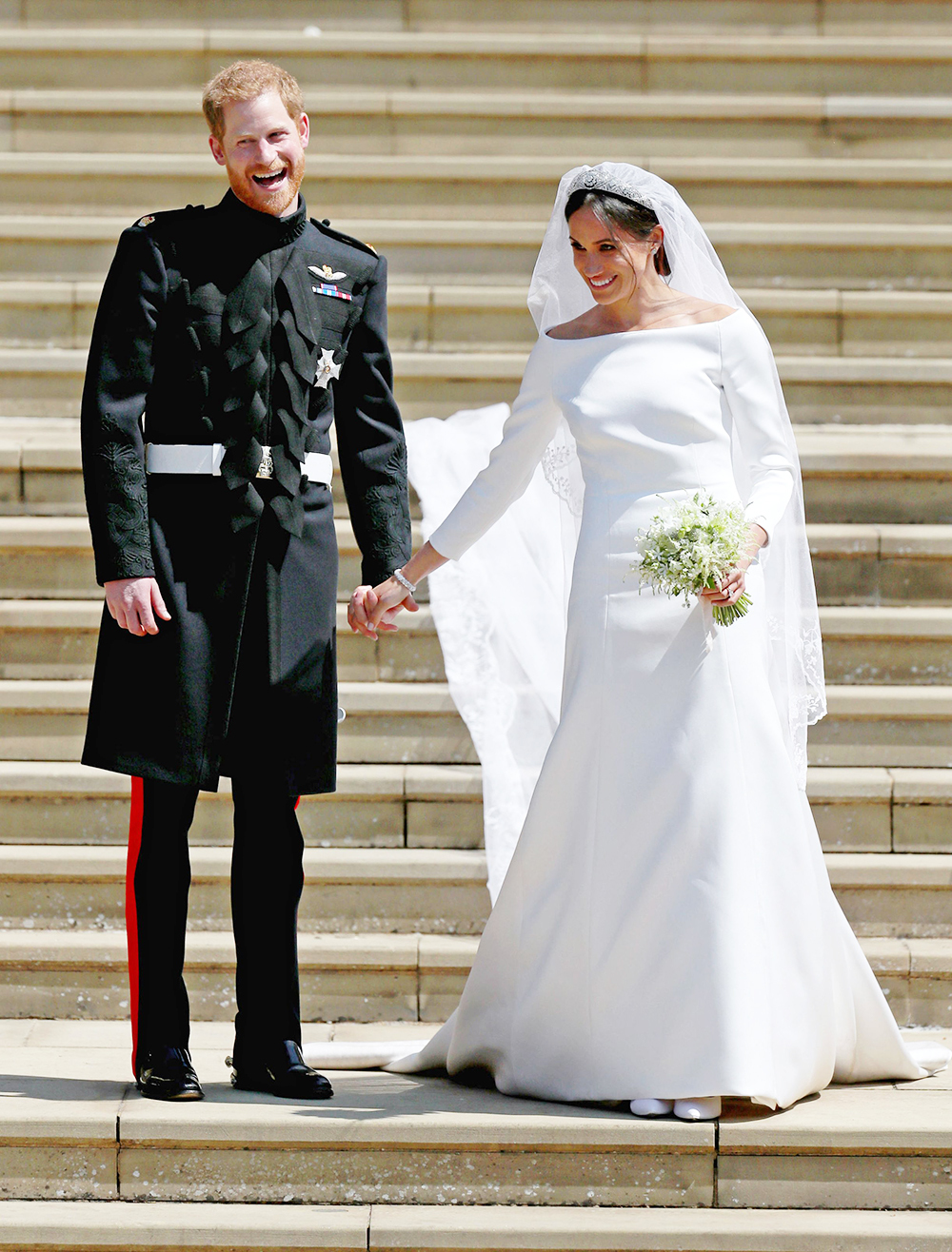 Mandatory Credit: Photo by REX/Shutterstock (9685436fh) Prince Harry and Meghan Markle The wedding of Prince Harry and Meghan Markle, Ceremony, St George's Chapel, Windsor Castle, Berkshire, UK - 19 May 2018